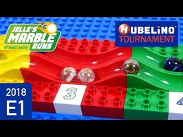 Hubelino Marble Race Tournament 2018 - E1 Swing Wave