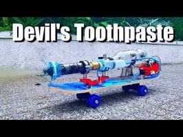 Devil's Toothpaste Rocket Engine (3D Printed)