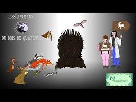 #74 - Les Animaux du bois de Quat'Sous - Ces Dessins animés-là qui méritent qu'on s'en souvienne