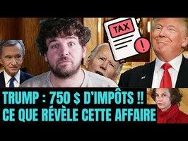 Trump ne paye (presque) pas d'impôt. Ce que révèle vraiment cette affaire