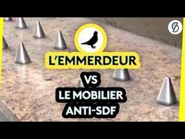 L'emmerdeur s'attaque au mobilier anti-SDF #ONPDP