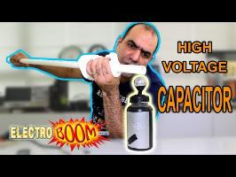 Make a SUPER HIGH VOLTAGE Capacitor