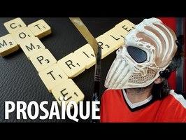 Prosaïque - Mot Compte Triple