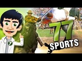 77 sports complètement fous et insolites !