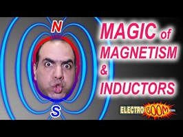 Magic of Magnetism & Inductors (ElectroBOOM101-007)