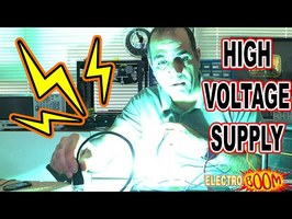 Making HIGH VOLTAGE SUPPLY, there was an attempt…