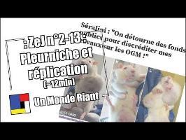 Zététique et journalisme #2-13 - Pleurniche et réplication