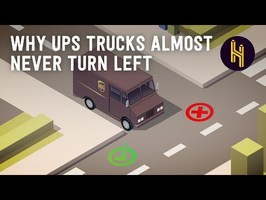Why UPS Trucks Almost Never Turn Left
