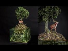 Skull Island / Insanely beautiful diorama